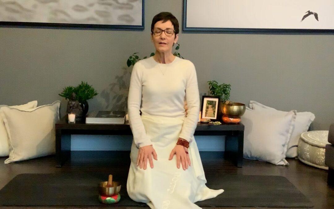 Méditation pour apaiser la peur